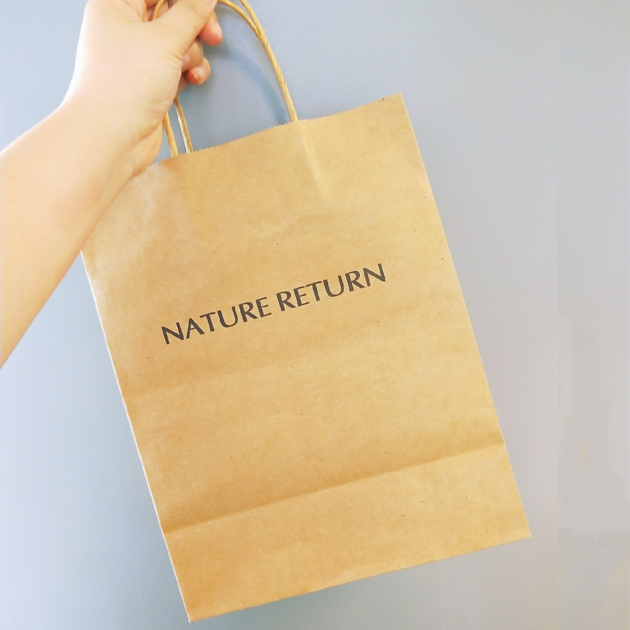 NATURE RETURN套盒通用牛皮购物袋